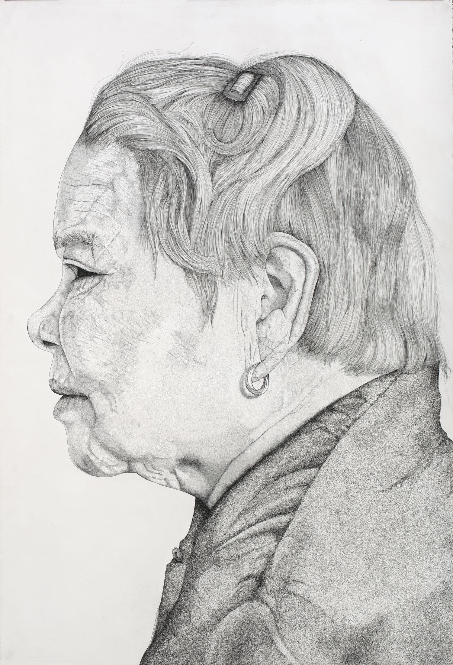 Portrait-de-Mamou-de-profil