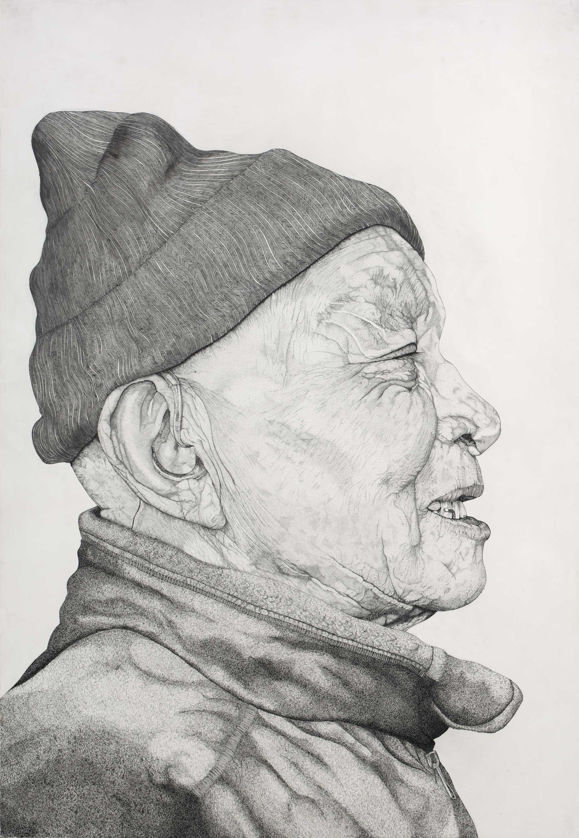 Portrait-de-Papou-de-profil
